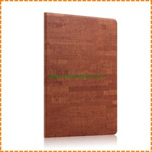 Luxury Ultra thin wood grain stand pu leather flip tablet case for iPad Mini 1/2/3