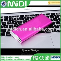 Portable cheap quick charge power bank 16000mah