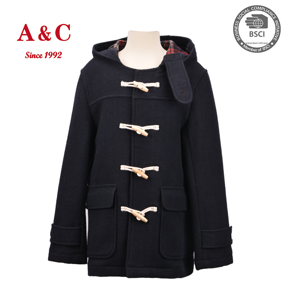 2016 Winter Children Boys Woolen Long coat