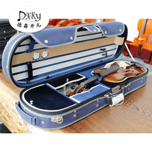 High quality hard wooden violin case