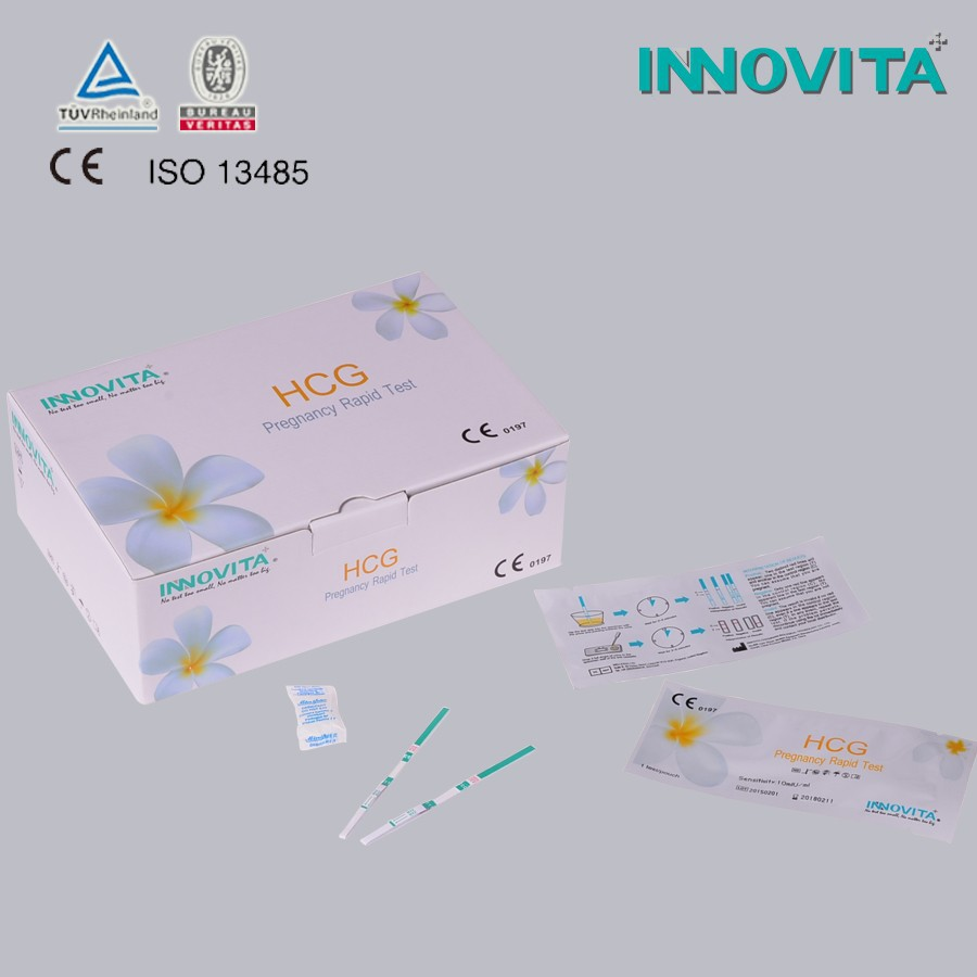 High Sensitivity One Step Use HCG Pregnancy Test Strip