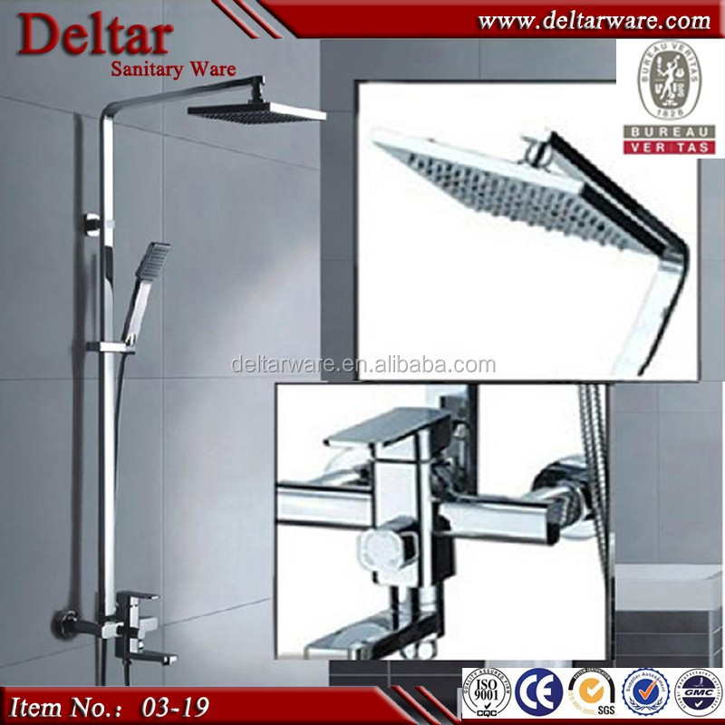 Shower Mixer Bathroom Overhead Shower With Cheap Price