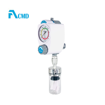 Medical vacuum regulator with suction bottle used on pendant
