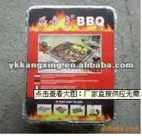 aluminium foil in box packing bbq grill 2015 popular type