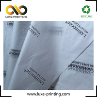 Promotional custom printing different size thin bulk tissue paper