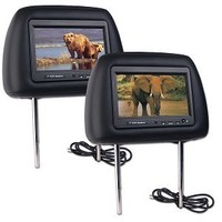 7 inch headrest car touch screen monitor with DVD player