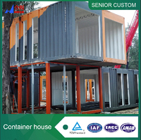China produced flat pack container house living container house,prefab flat pack 40 feet container