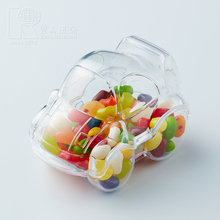 Kwang Hsieh Hot Slee Cheap Clear Car Shaped Plastic Mini Candy Container