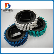 Nylon 610 PA66 PA6 Fruit cleaning brush roller/vegetable brush