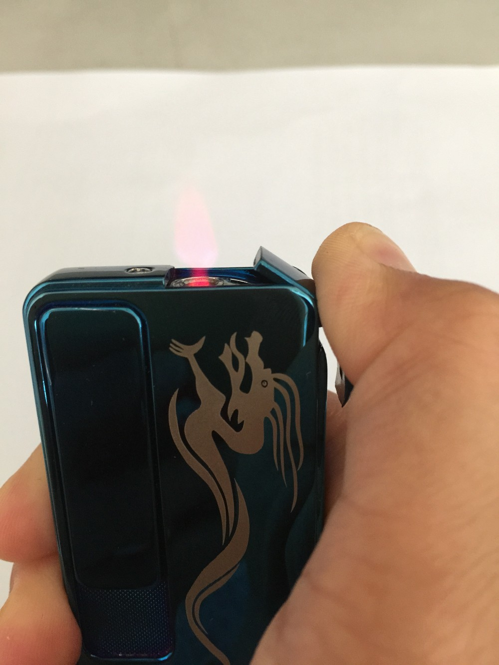 USB rechargeable & Jet flame 2 in 1 metal lighter