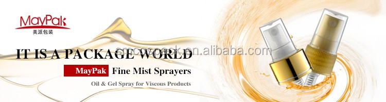 BI-injection moling sprayer Fashionable Perfume gold mist spray 20mm