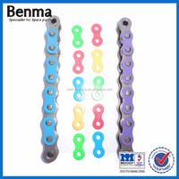 428H colored motorcycle chain in cheap price
