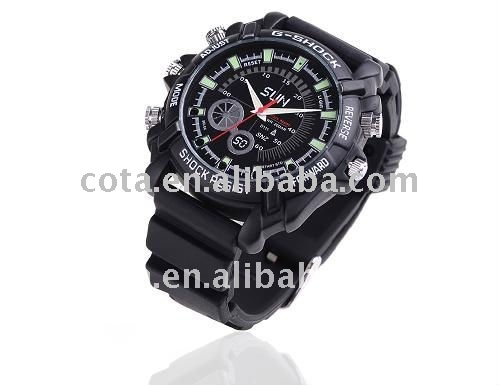 1080P HD Waterproof watch camer with Night Vision Function CT-W138A