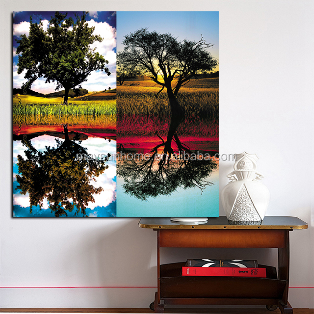 gallery wrapped contemporary custom photo canvas prints for bedroom
