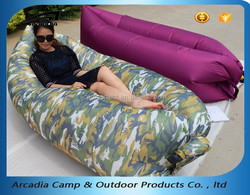 Warm weather type inflatable air lounge lazybag hangout lamzac laybag