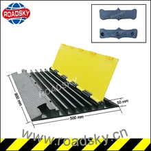 Road Construction Safety Rubber Cable Guard
