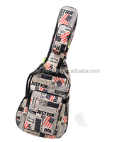 Fashion Flag Pattern Music Instrument Bag in Guitar China Supplier