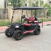 Electric two seater Sightseeing club car golf vehicle mini golf using car