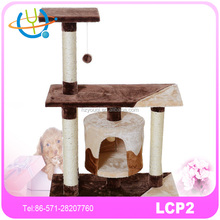 cut colorful wooden style kitty house cat sleeping room,competive price