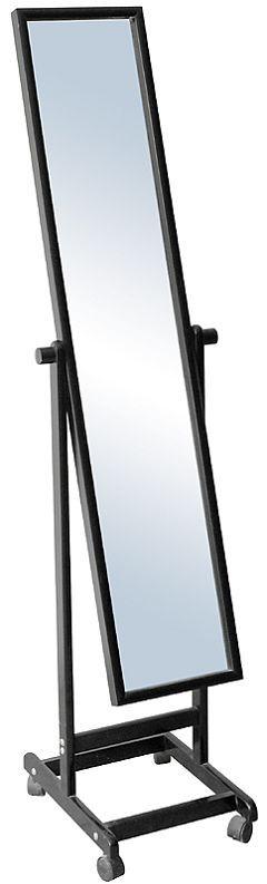 Grande elegante del piso barato espejo de pie ruedas for Espejos grandes baratos