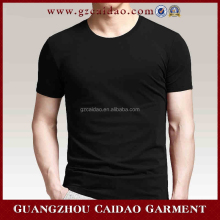 Nice design comfortable cotton men bulk tshirts with V-neck