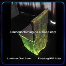 new fiber optic material to make chair covers