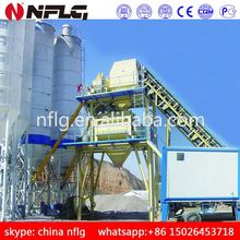 Large capacity widely used concrete batch mixing station with low price and high efficiency