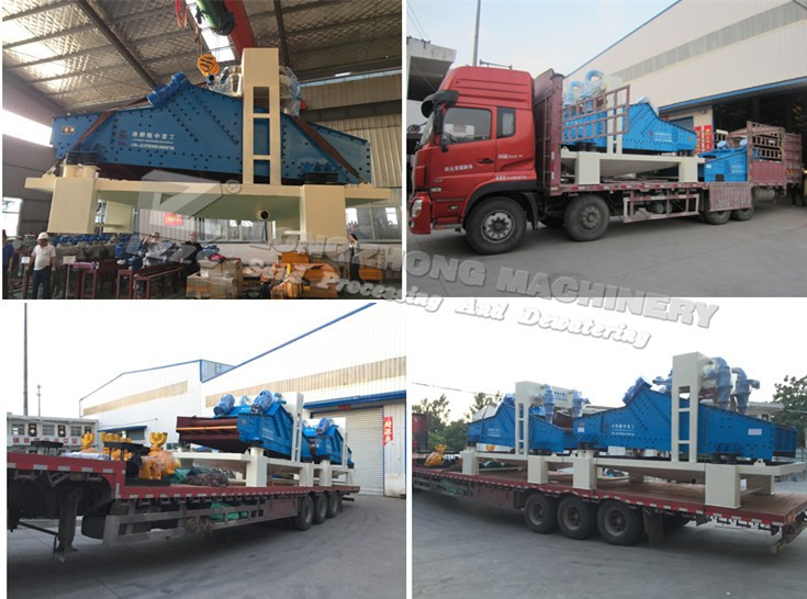 Factory price fine sand recycling machine, sand dewatering screen