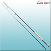 Chinese wholesale fishing tackle nano carbon travel fly rod