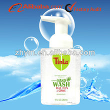 Tinla antibacterial foaming hand wash and sanitizer