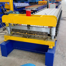 Automatic Aluminum IBR Roof Sheet Steel Profile Making Roll Forming Machine Manufacturer