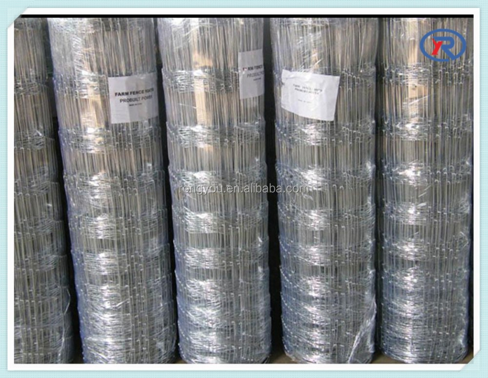 High Tensile Galvanized Sheep/ Cattle/ Horse/Hog Wire mesh Fencing