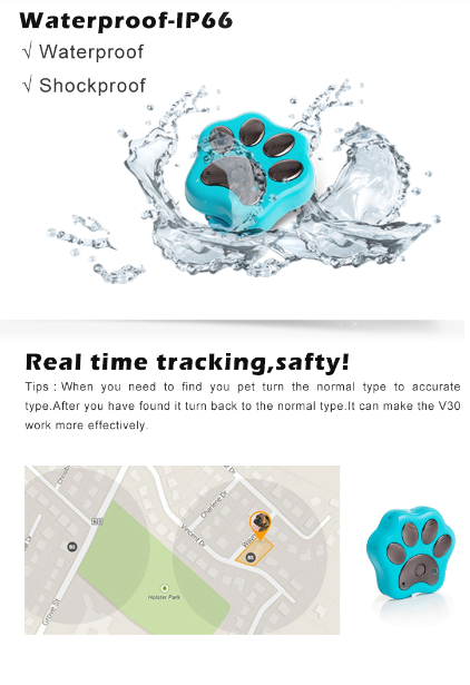 gps tracker for dog /cat/cow farm