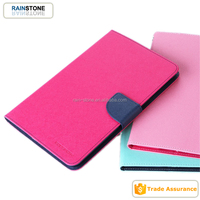 Wallet leather diary case for iPad mini 4 tablet case cover shockproof back cover diary case
