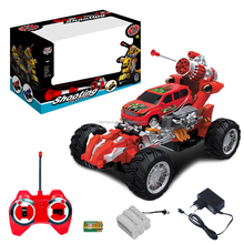Remote Control RC Dart Shooting Monster Truck Transforming