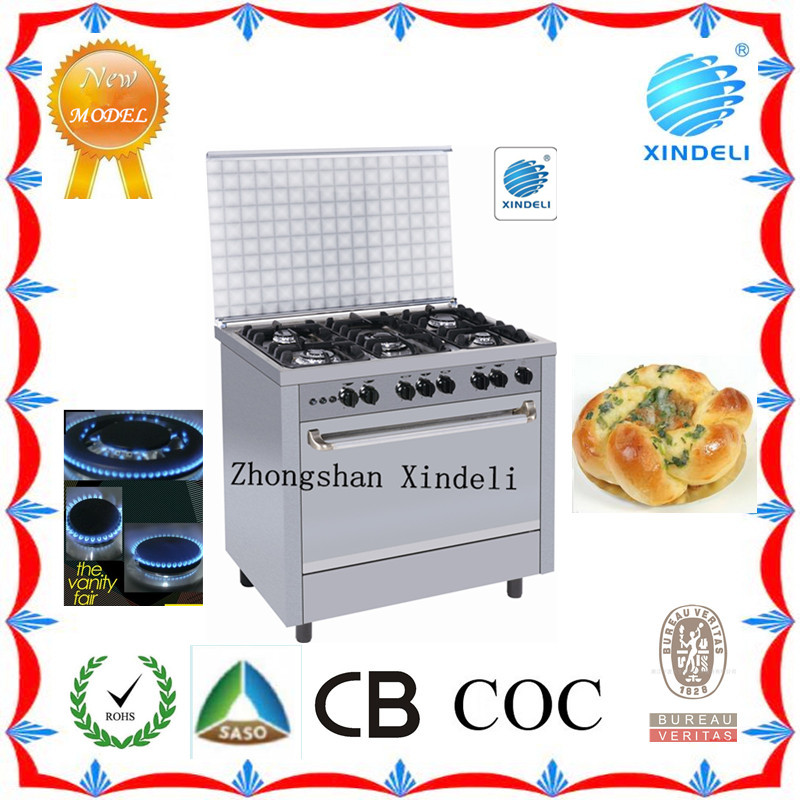 Canton Fair kitchen appliance 110v electric stove ovenhood in Dubai cook gas with SASO CB for home used