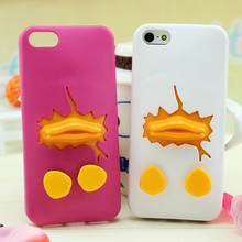 cute 3d silicone case for iphone 5