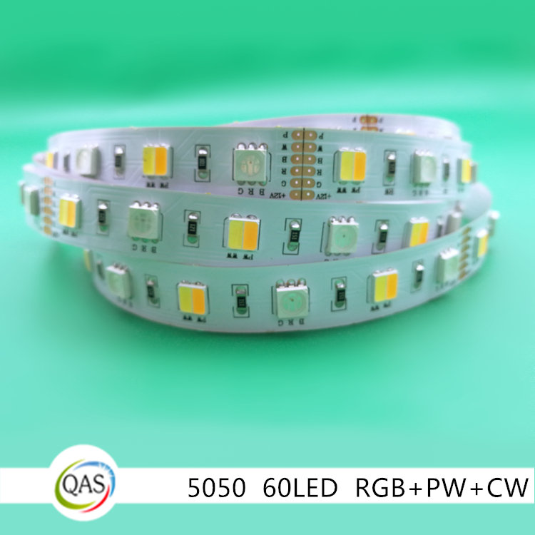 5050 rgb 3in1 pwcw 2in1 color mixed led strip dc12v color changing strip tape