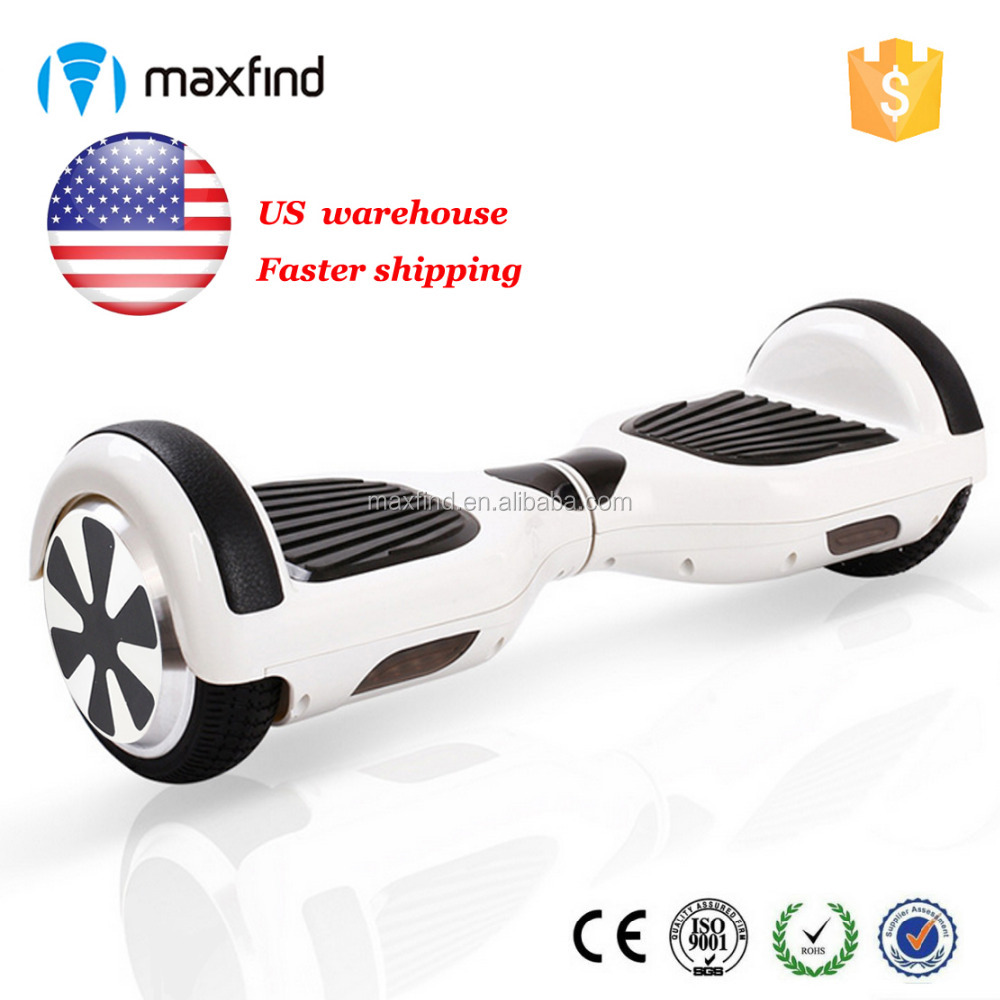US warehouse io hawk two wheels self balancing hoverboard electric skateboard