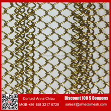 Wholesale Price Flexible Bronze Metal Mesh fabric for curtain