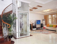 3-5 persons small glass home elevator