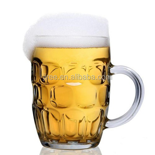 Crystal Plastic Beer Glass Mug