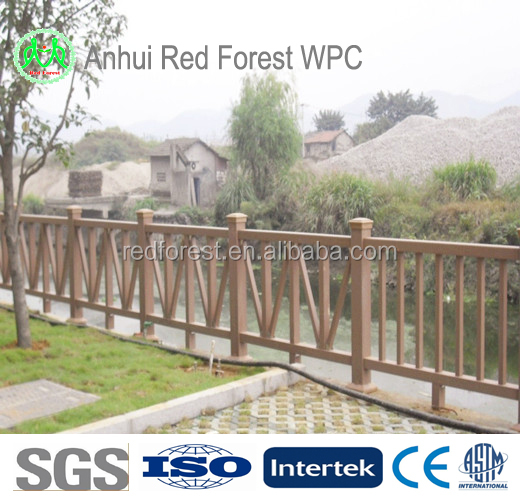 ECO Friendly Wpc Fencing Vinyle Fences