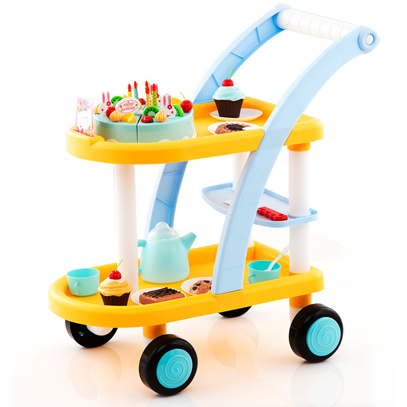 2018 new ELECTRIC pretend trolley baby shopping cart toy