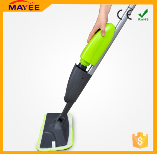 670ML moveable cleaning spray mop Aluminum material rod material