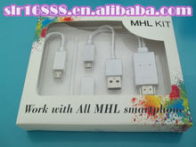 Latest MHL cable! galaxy note to hdmi /Micro USB Charging Cable And MHL to HDMI Media Adapter