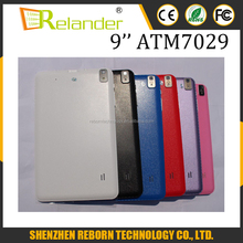 9 inch Android Tablet Quad Core A33 ATM7029 ROM 8G Android 4.4 Bluetooth Android Tablet