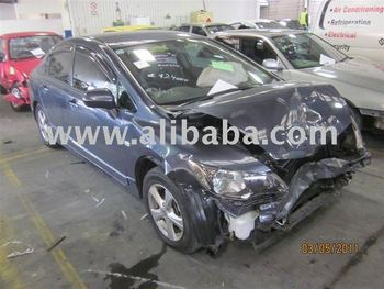 honda civic vti A/t damaged