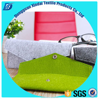 OEM best high quality durable new products custom fabric felt multifunction pencil case made in china
