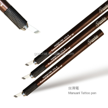 Eyebrow manual tattoo pen for microblading